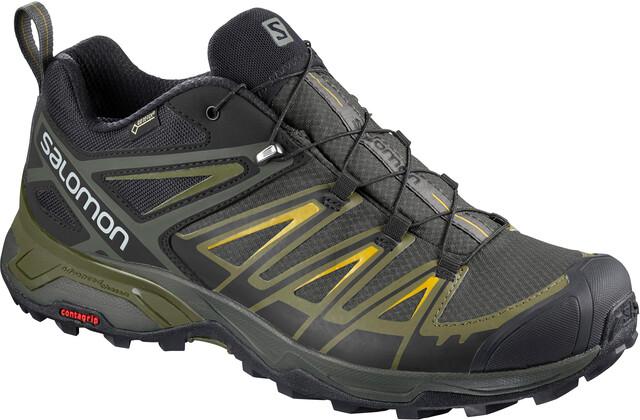 Schuhe Salomon X Ultra 3 GTX Castor GrayBelugaGreen